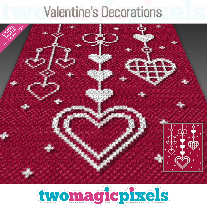 Valentine's Decorations by Two Magic Pixels