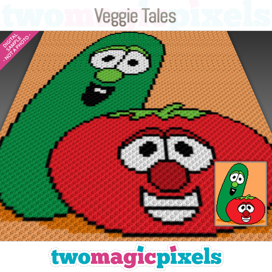 Veggie Tales by Two Magic Pixels