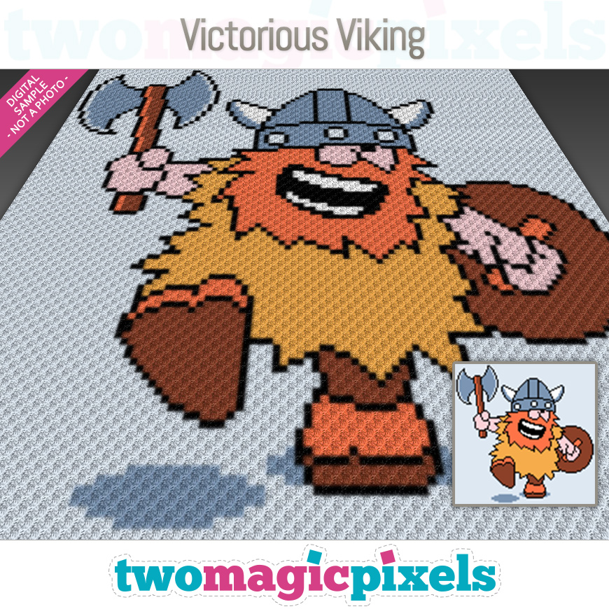 Victorious Viking by Two Magic Pixels