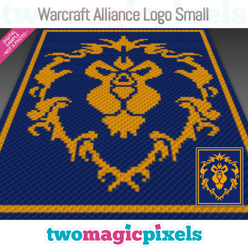Warcraft Alliance Logo Small by Two Magic Pixels