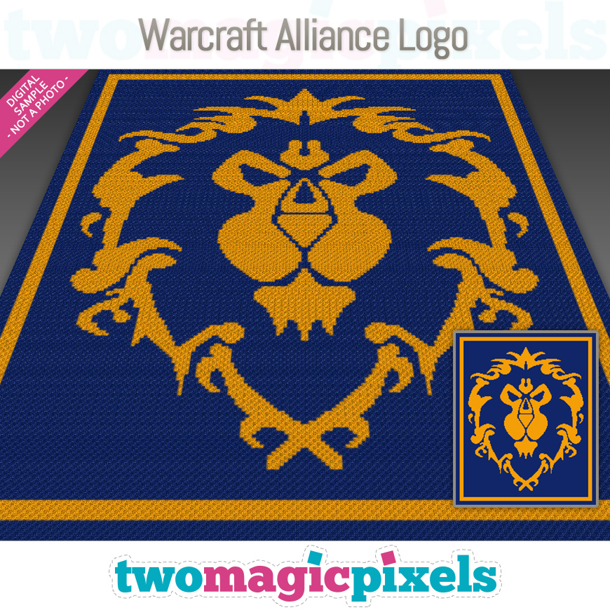 Warcraft Alliance Logo by Two Magic Pixels