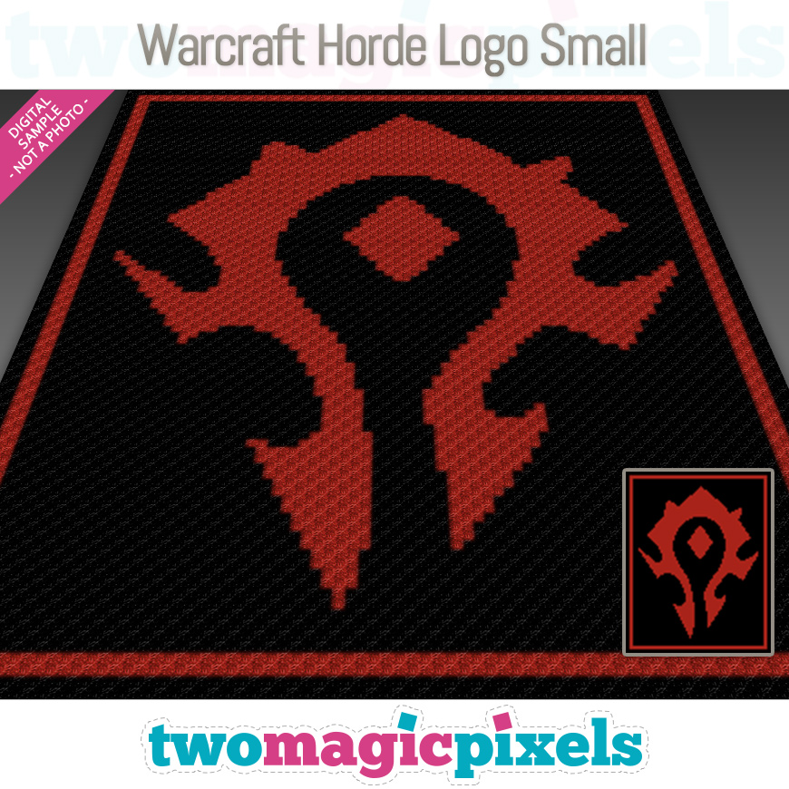 Warcraft Horde Logo Small by Two Magic Pixels