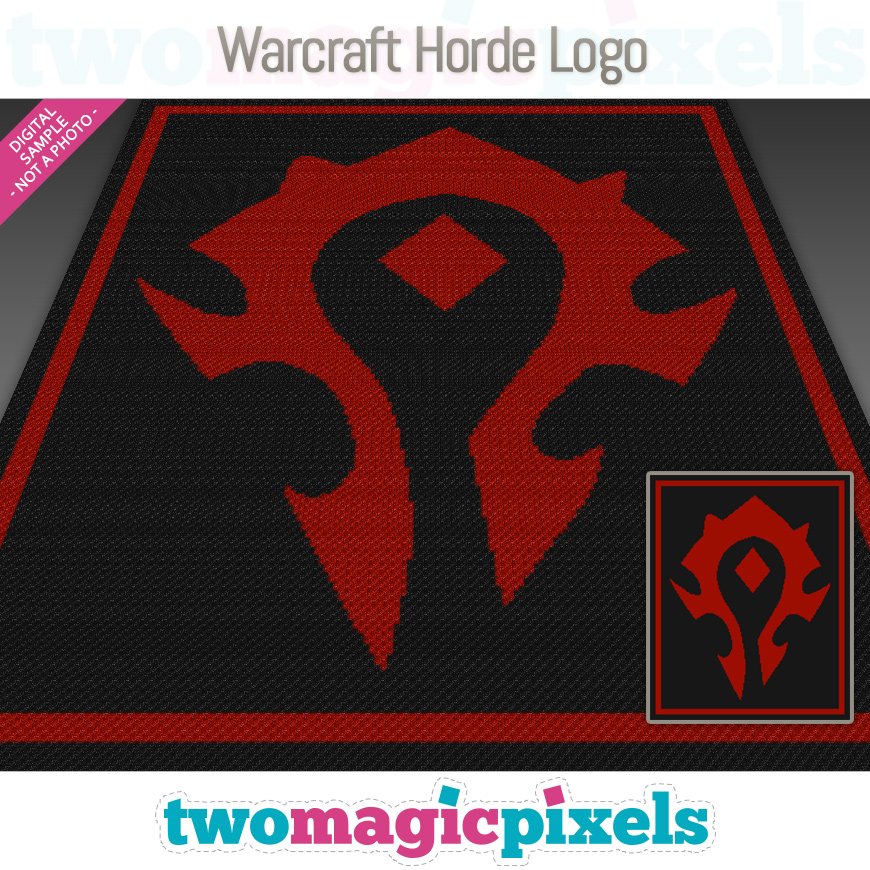 Warcraft Horde Logo by Two Magic Pixels