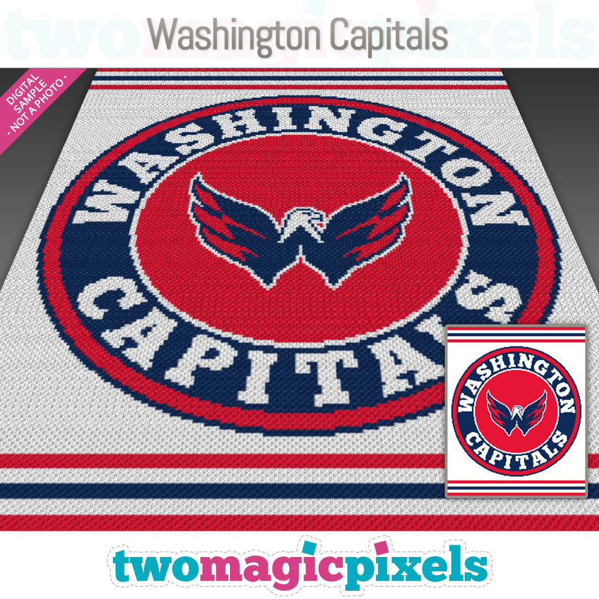 Washington Capitals by Two Magic Pixels