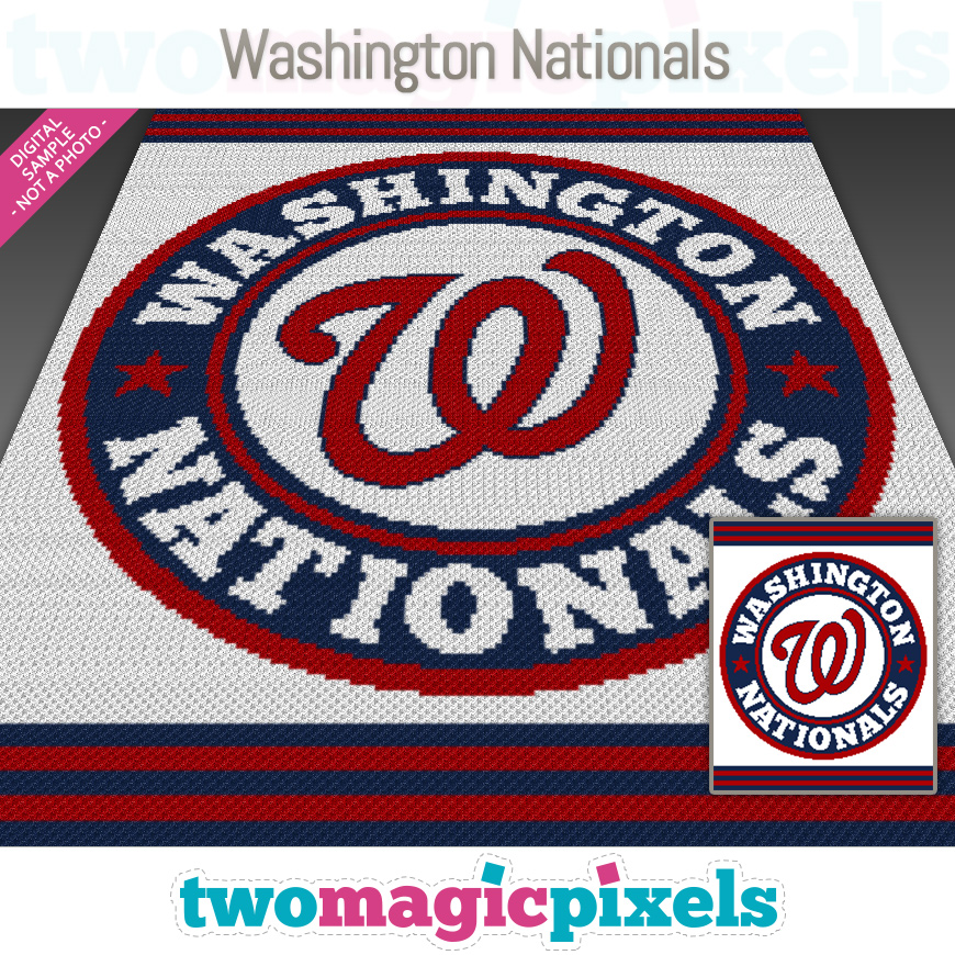 Washington Nationals by Two Magic Pixels