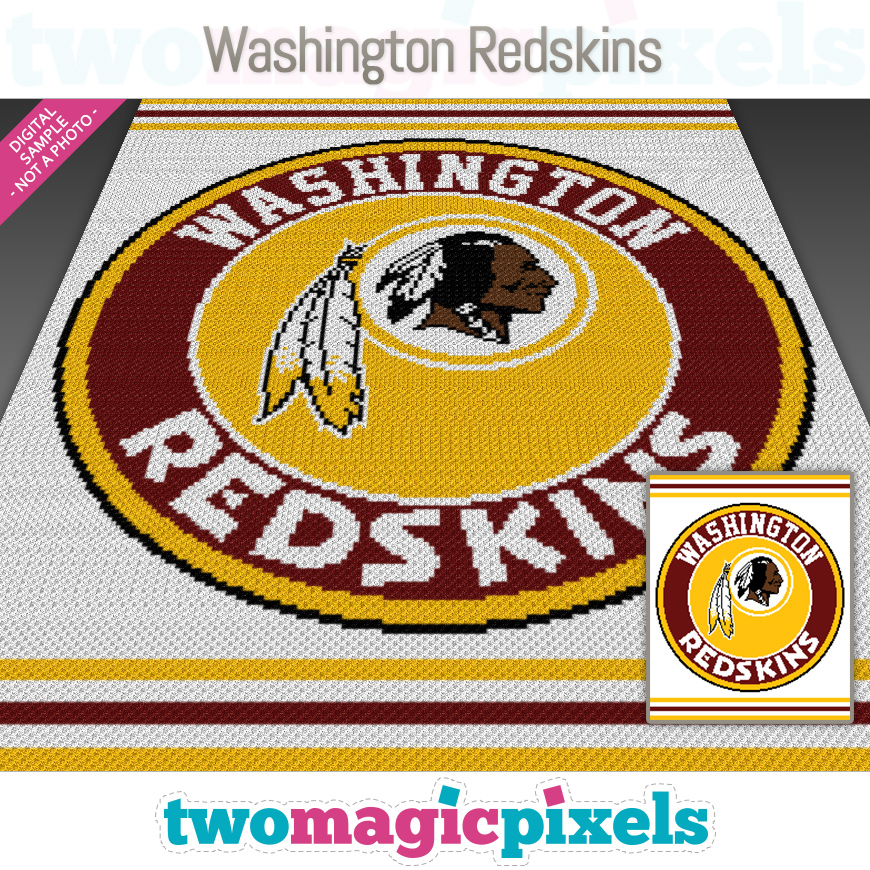 Washington Redskins by Two Magic Pixels