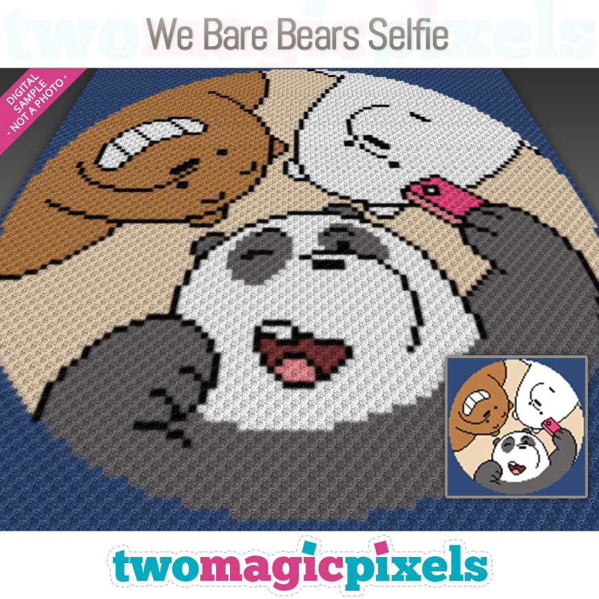We Bare Bears Selfie by Two Magic Pixels