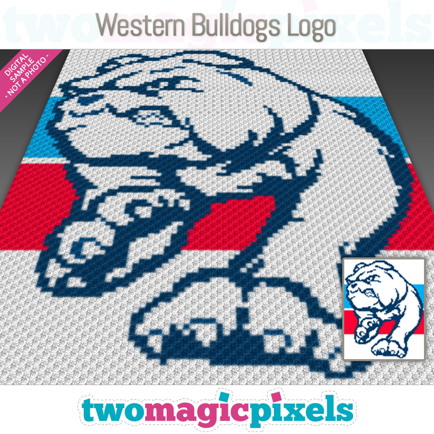 Western Bulldogs Logo by Two Magic Pixels