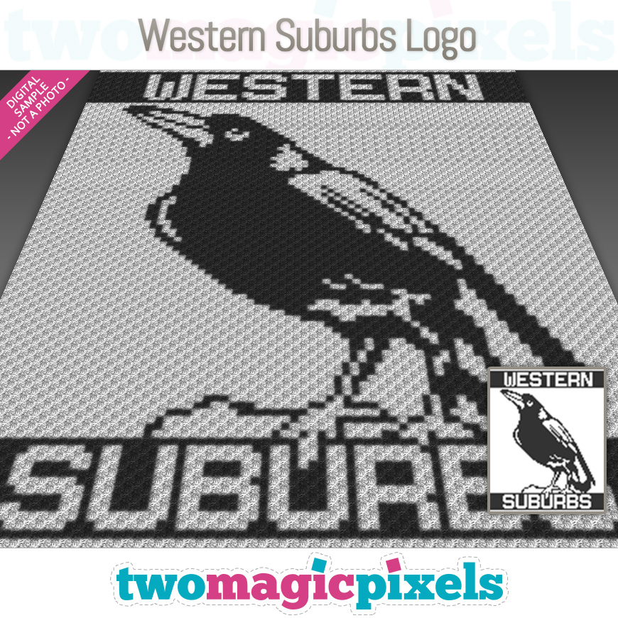 Western Suburbs Logo by Two Magic Pixels