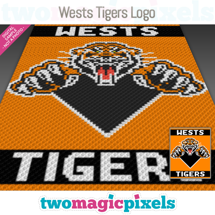 Wests Tigers Logo by Two Magic Pixels