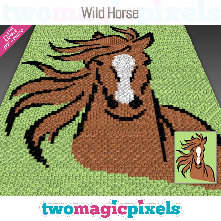 Wild Horse by Two Magic Pixels