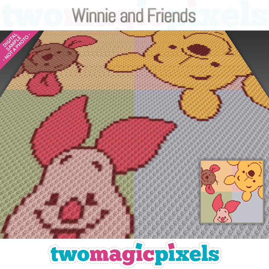 Winnie and Friends by Two Magic Pixels
