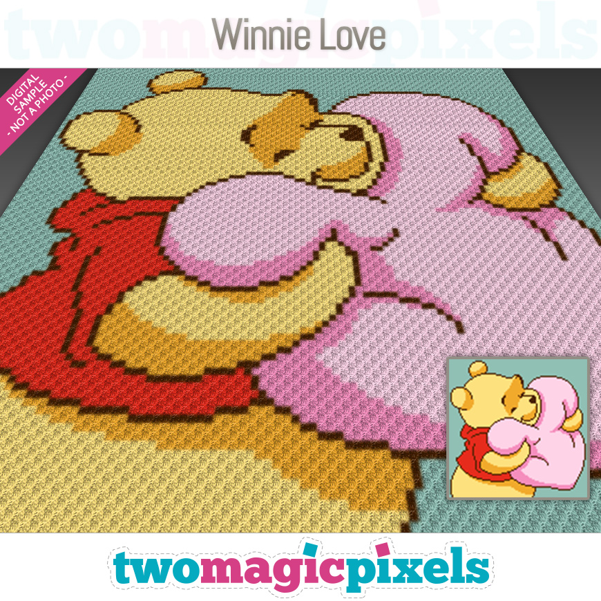 Winnie Love by Two Magic Pixels