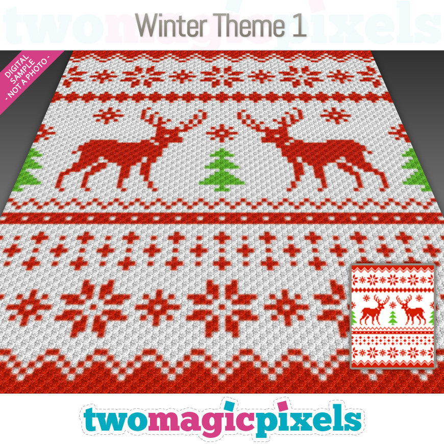 Winter Theme 1 by Two Magic Pixels