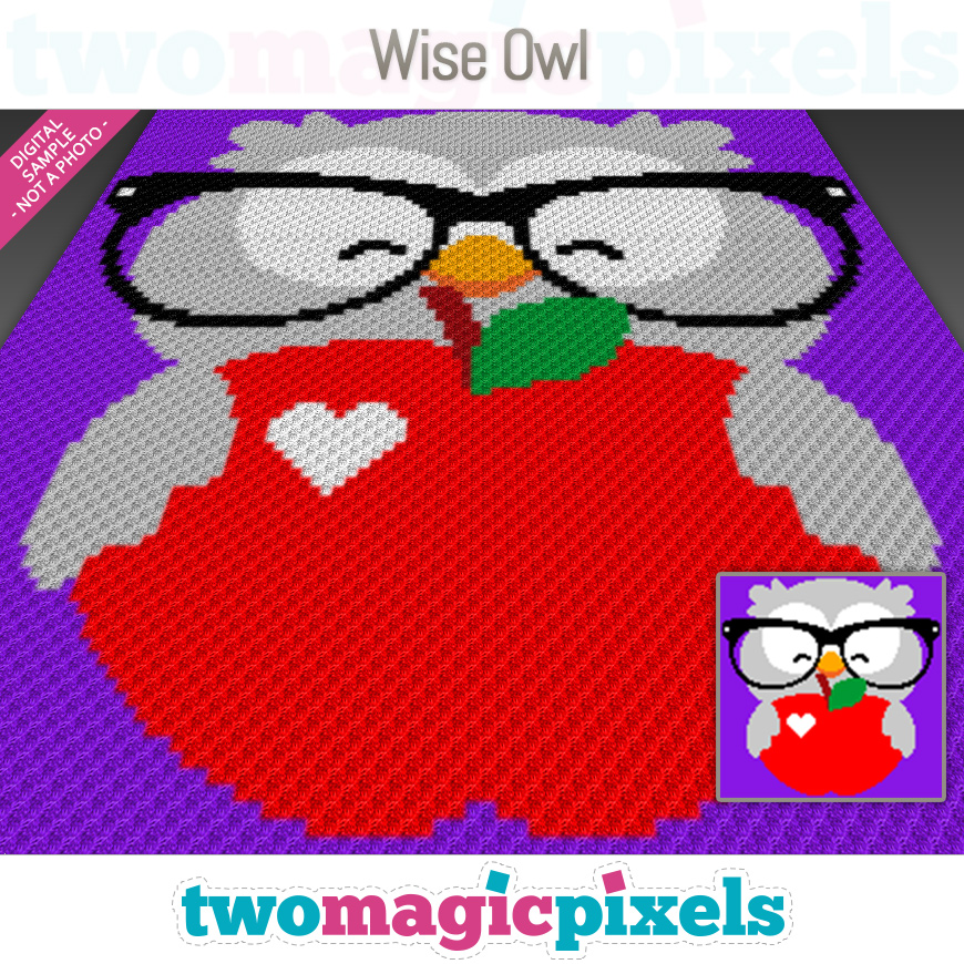 Wise Owl by Two Magic Pixels