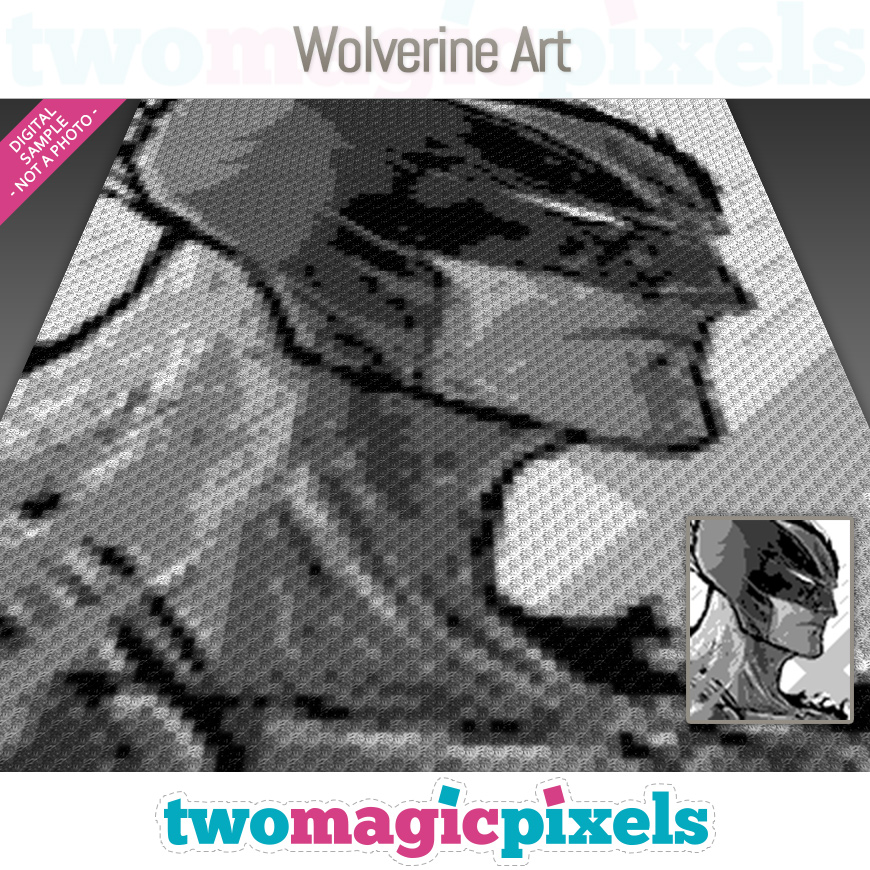 Wolverine Art by Two Magic Pixels