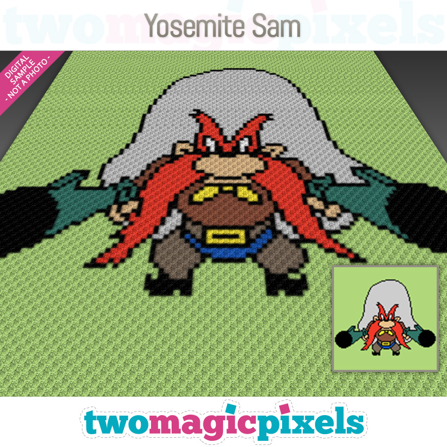 Yosemite Sam by Two Magic Pixels