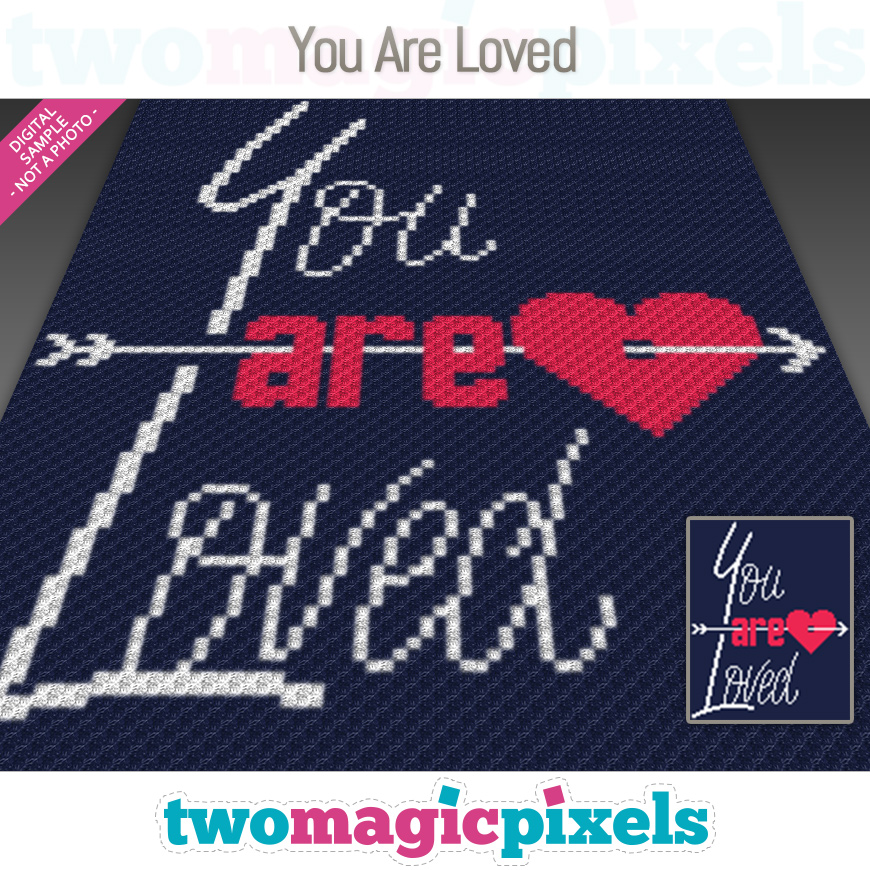 You Are Loved by Two Magic Pixels