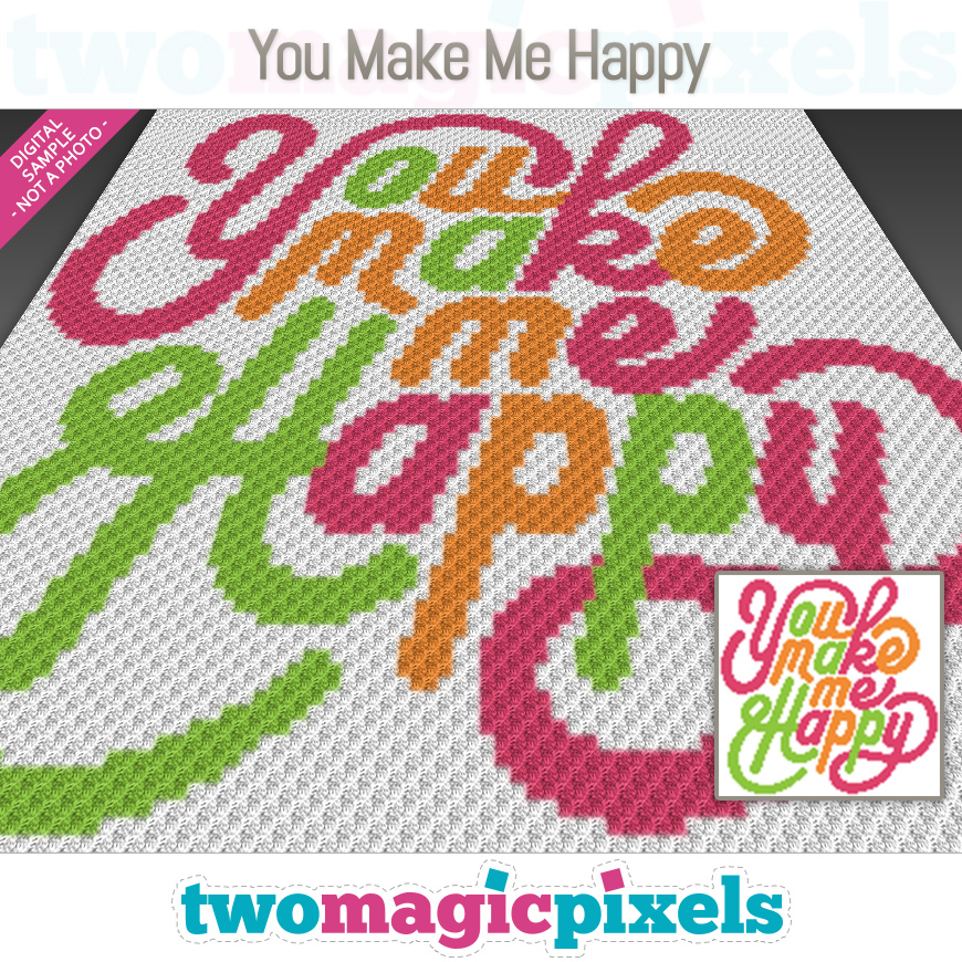 You Make Me Happy by Two Magic Pixels