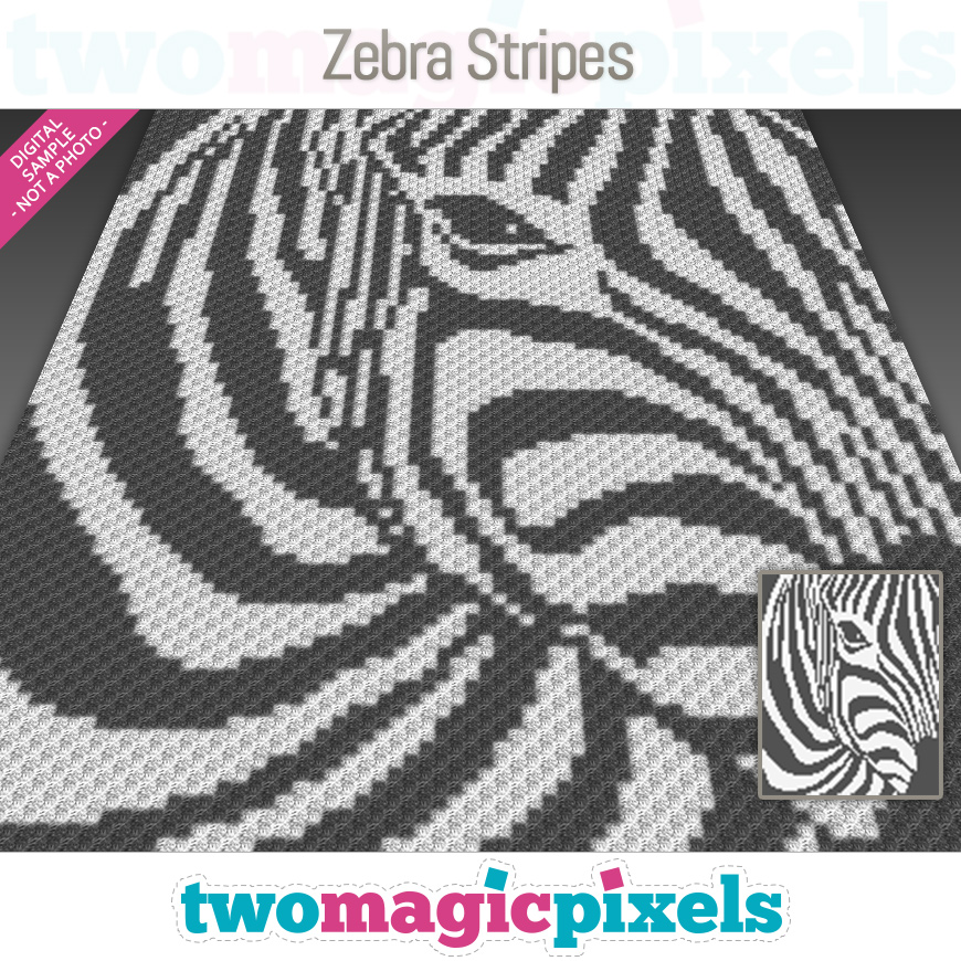 Zebra Stripes by Two Magic Pixels